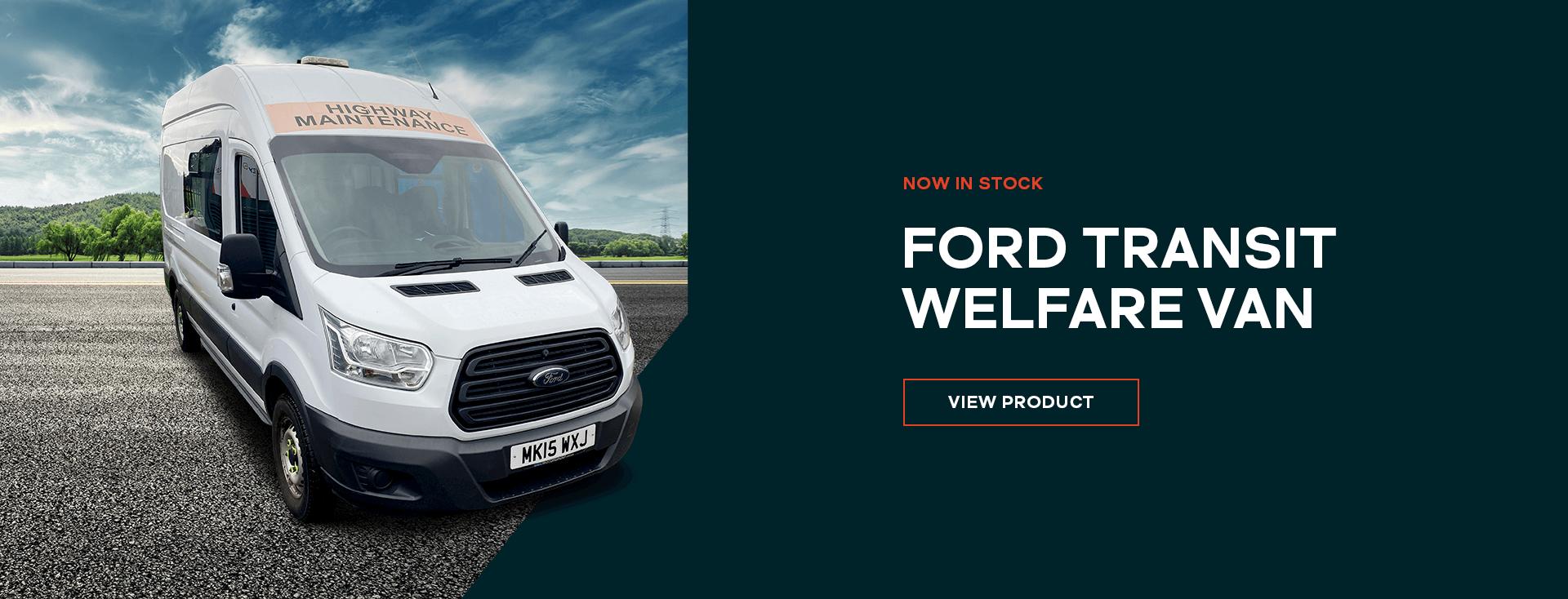 Ford Transit Welfare Van